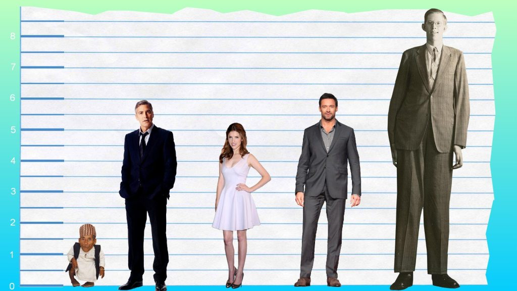 George Clooney's height 5