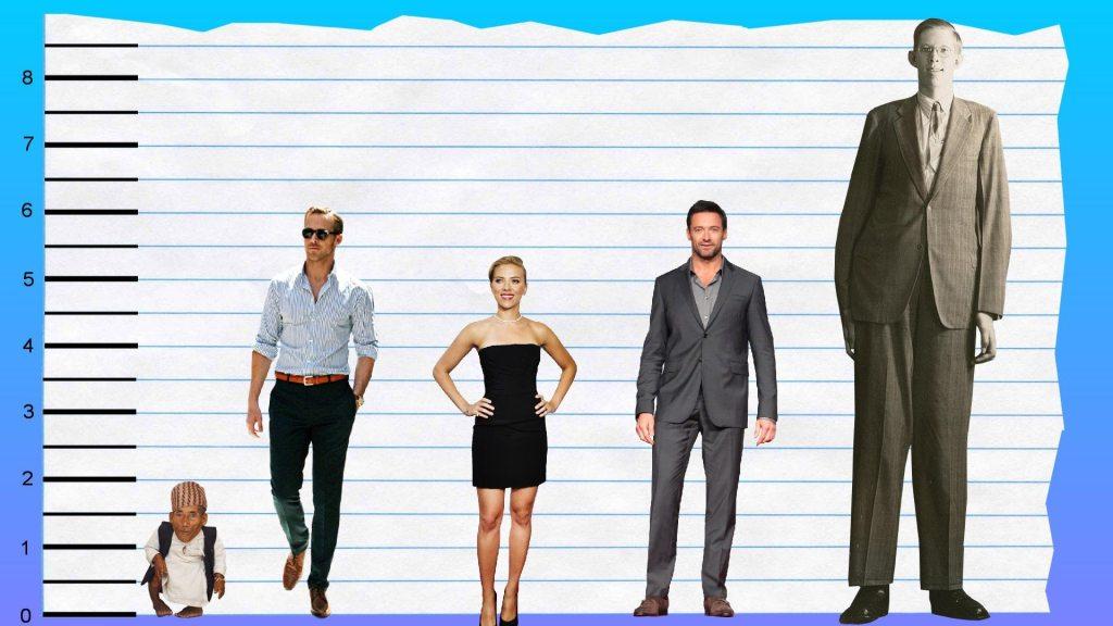 Ryan Gosling's height 3