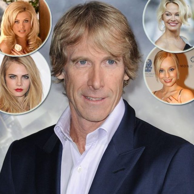 Michael bay and Girlfriends