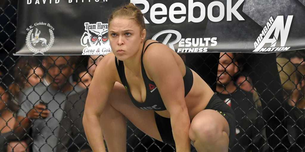 Ronda Rousey's height 6