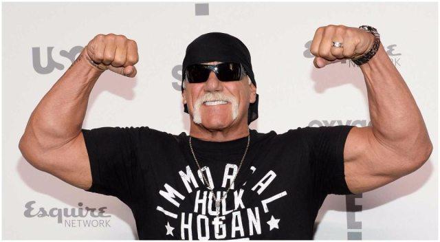 Hulk Hogan's height 6