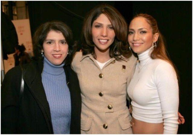 Jennifer Lopez kids sisters