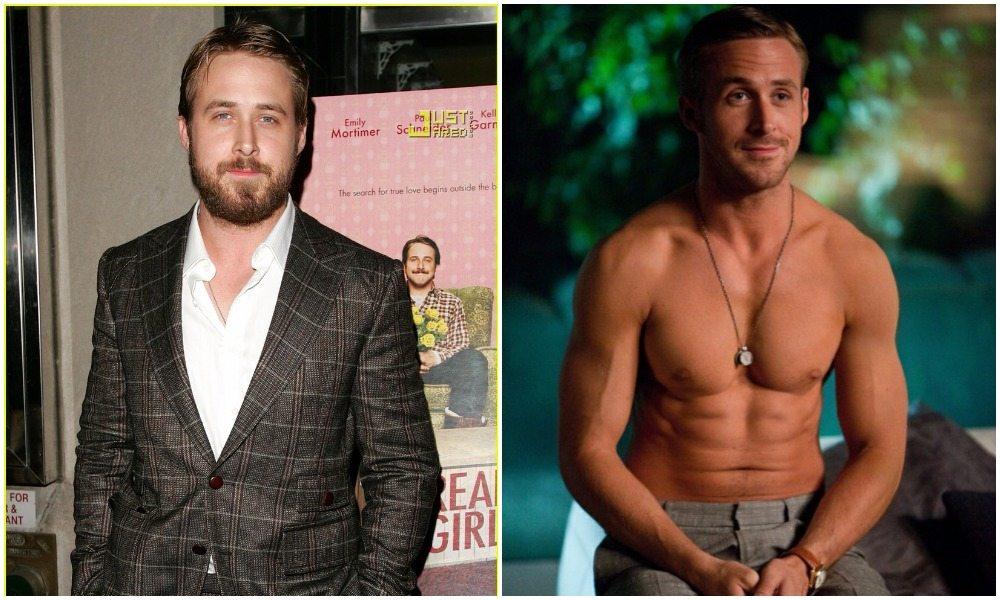 Ryan Gosling's height 5