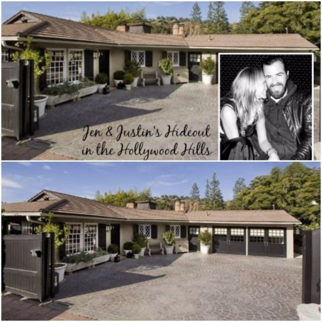 Jennifer Aniston's nose house