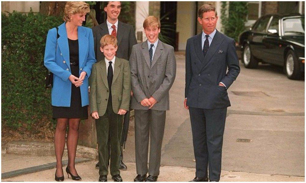 Princess Diana's height 4