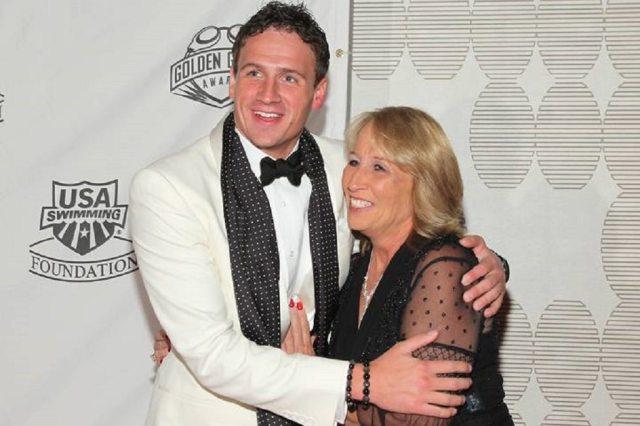 Ryan Lochte and his mom, Illeana Lochte