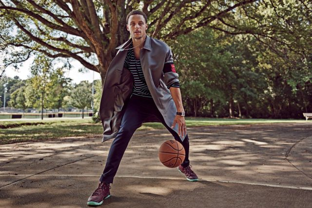 Stephen Curry's height 5