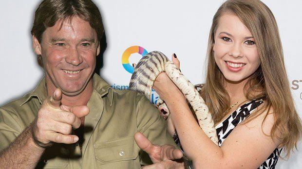 Steve Irwin and daughter, Bindi Irwin