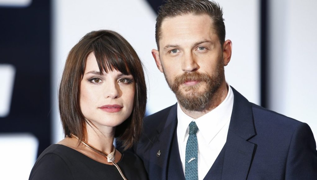 Tom Hardy's wife dp