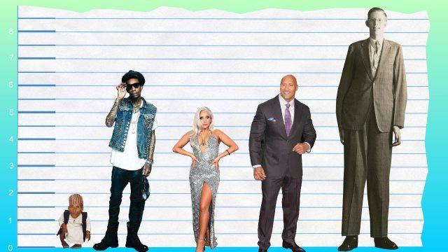 Wiz Khalifa's height compare