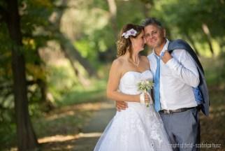 Erika és István - kreatív esküvő fotó