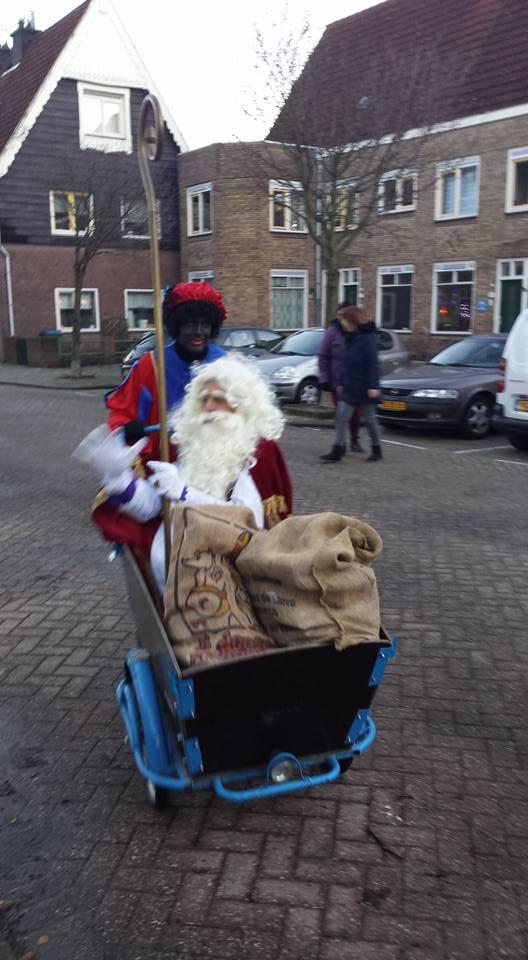 Sinterklaas basisschool de klaver heijplaat