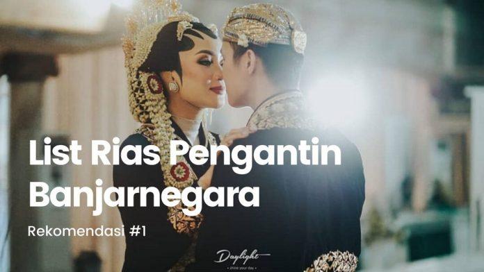 daftar rias pengantin banjarnegara