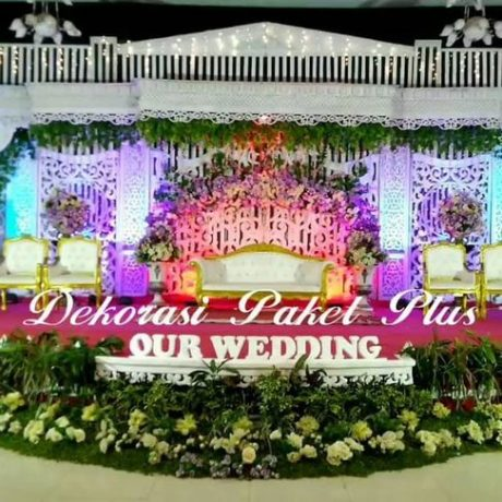 dekorasi pernikahan madura