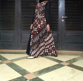 batik pendamping pengantin wanita