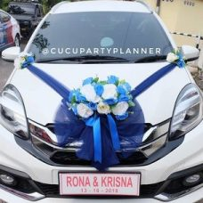 Plat Mobil Hiasan Pernikahan