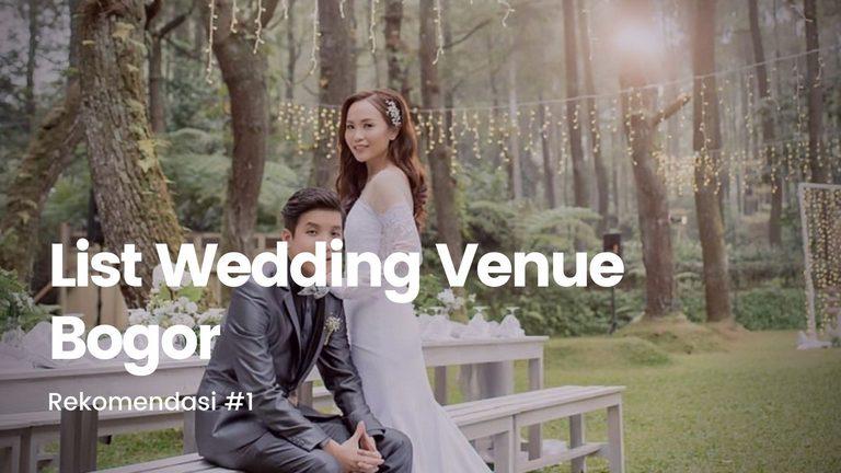 40 Rekomendasi Tempat Pernikahan Terbaik Di Bogor Heikamu Com