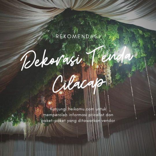 Dekorasi Tenda Tarub Cilacap