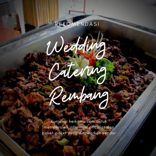 Paket Catering Rembang