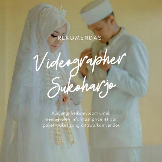 Videografer Wedding & Prewedding Sukoharjo