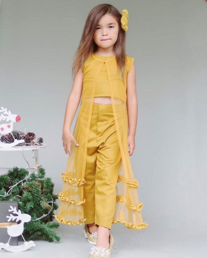 model baju kebaya anak perempuan