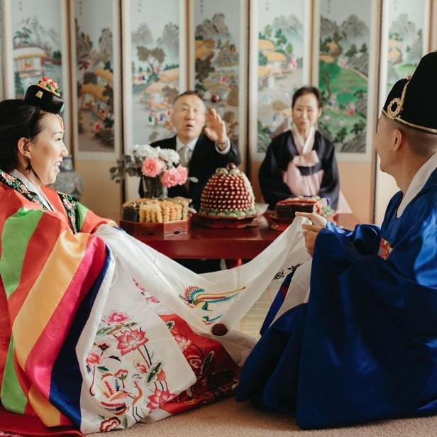 pernikahan adat korea selatan