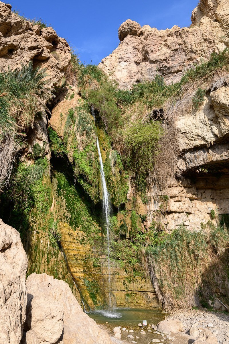 David Waterfall, Ein Gedi, Israel
