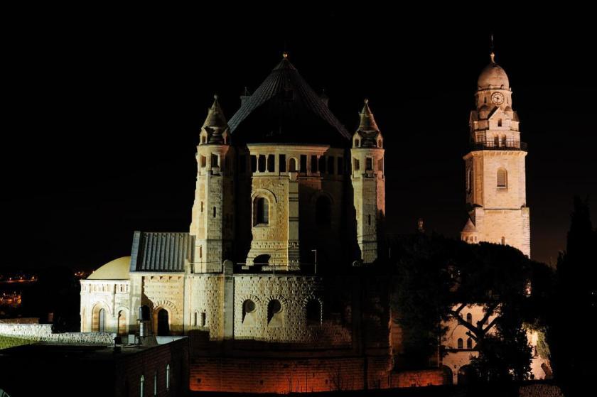 Dormition Church by night