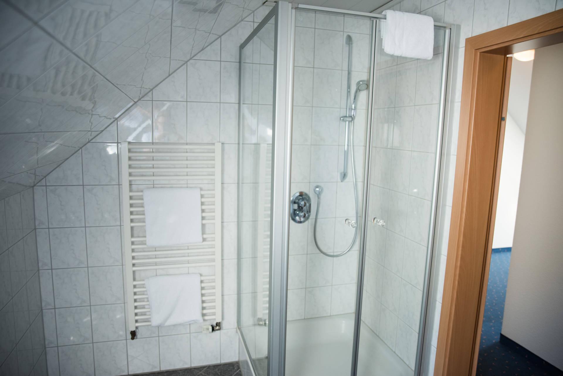 Badezimmer im Appartement