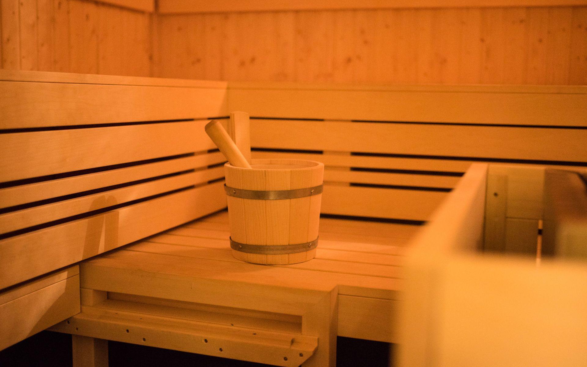 Finische Sauna im Hotel Heilemann