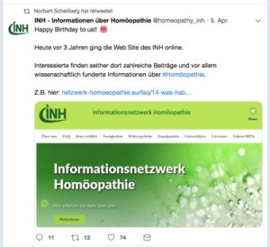 homöopathie anti-lobby