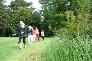 Lotuslaufen im Frauen kurs in Bremen mit Doris Seedorf, Heilpraktikerin