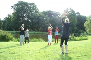 medizinisches und spirituelles Lotus Qigong in Bremen mit Doris Seedorf