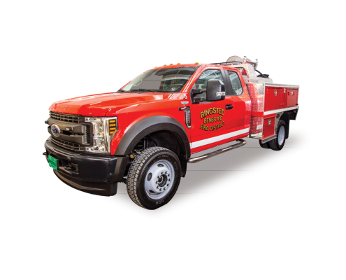 Ringsted Iowa Fire Department's Heiman Fire Wildland Unit