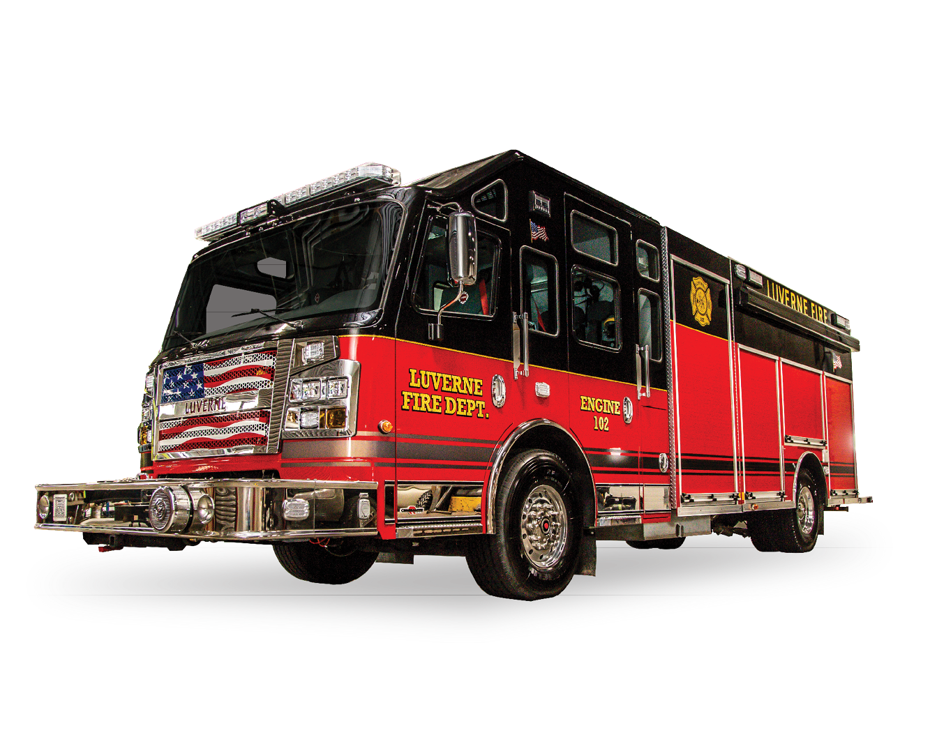 Luverne Fire Department MN Heiman Fire Rosenbauer Commander Pumper