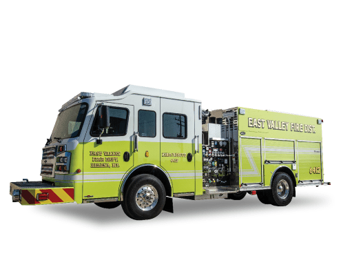 Heiman Fire - Rosenbauer Commander for East Valley Fire Department, Helena Montana