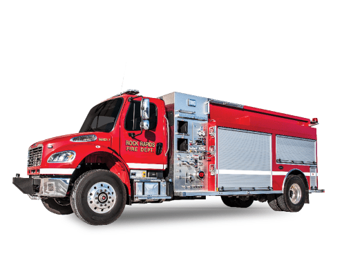 Heiman Fire Rock Rapids Fire Dept Maverick