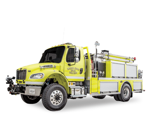 Heiman Fire WaterKing Tanker Tender for Meadow Grove Nebraska Fire
