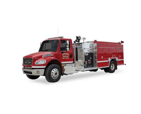 Epping, ND - Rosenbauer Pumper