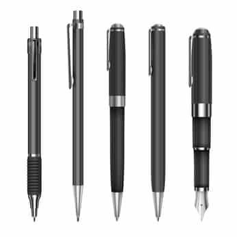 Kugelschreiber (schwarz), die montiert wurden in Heimarbeit
