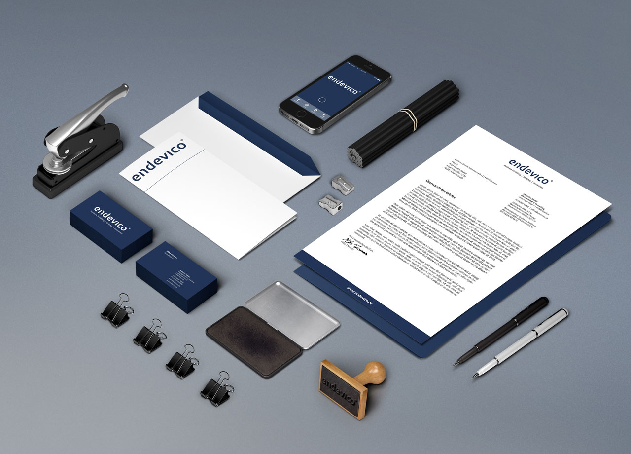 endevico Corporate Design