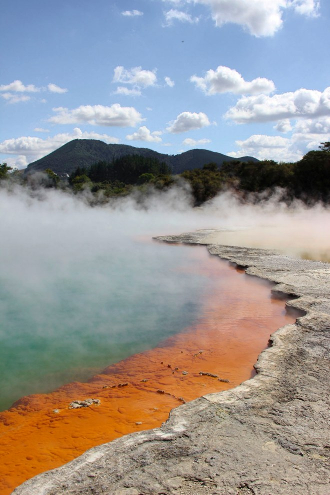Wai-O-Tapu Champaign Pool orange
