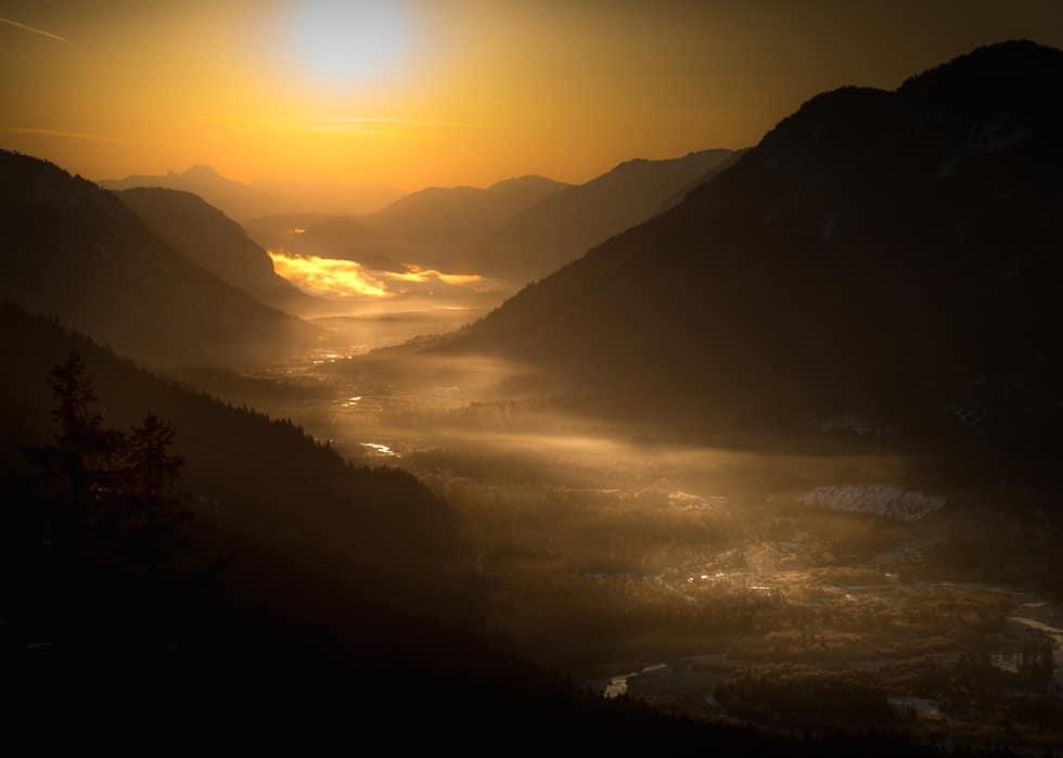 Dark Golden Valley