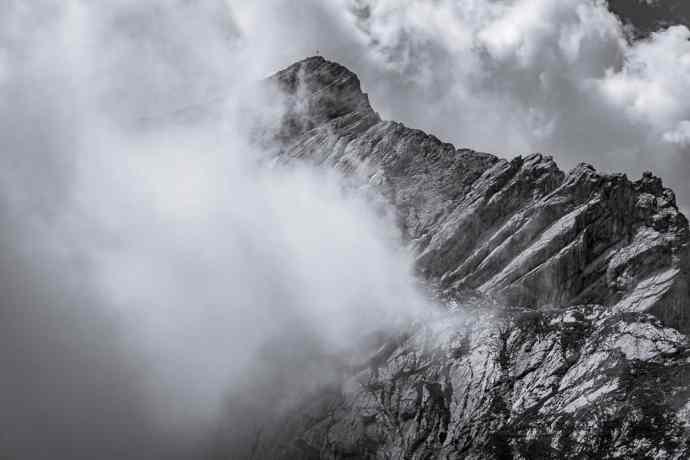 Alpspitze Nebelreissen