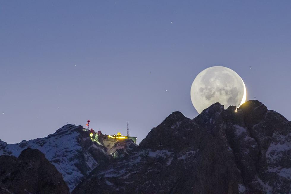 Mond Kollision