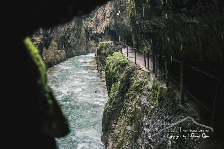 Die Partnachklamm - ein Naturdenkmal in Garmisch-Partenkirchen