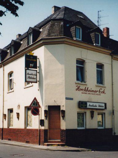 Gaststätte Horchheimer Eck 1995
