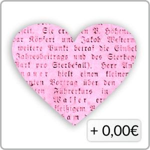 Schrift pink