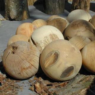 Holzkugelsortiment