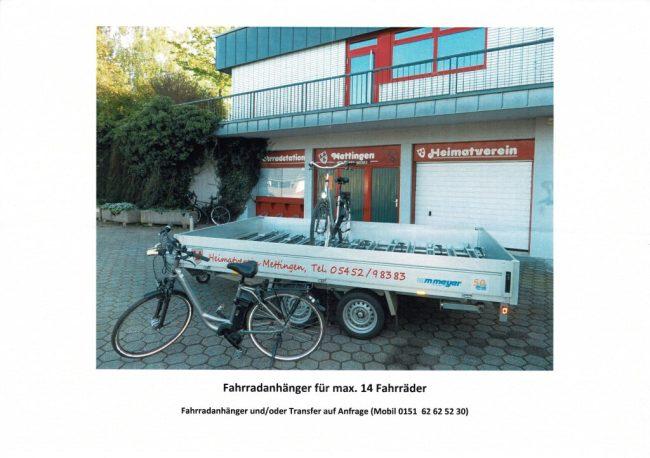 Fahrradstation & Fahrradanhänger